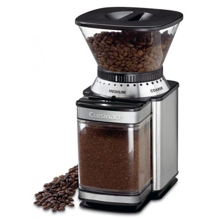 Cuisinart Supreme Grind Automatic Burr Mill and 18-Position Grind Selector, Removable Grind Chamber Holds Enough Coffee for 32 Cups with Automatic