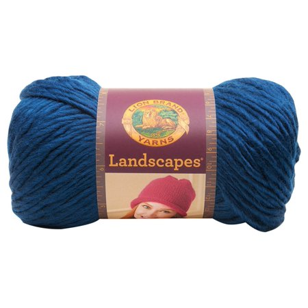 545 109 Landscapes Yarn  Steel Blue By Lion Brand Yarn Ship From Us