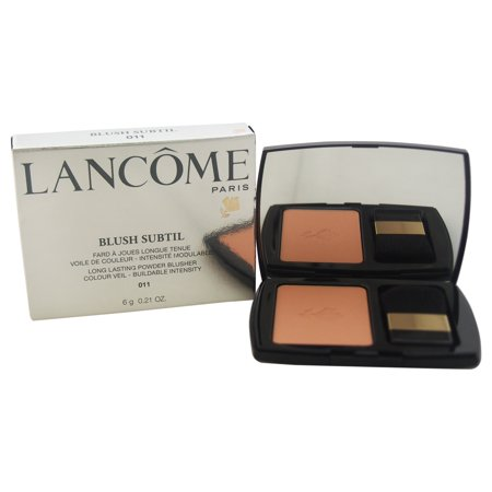 Blush Subtil Long Lasting Powder Blusher - # 011 Brun Roche by Lancome for Women - 0.21 oz Powder Long Lasting Sheer Blush