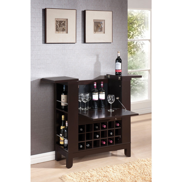 ACME Nelson Wine Cabinet, Wenge by Acme Furniture Industry Inc