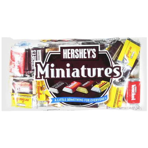 Hershey's Miniatures Assortment Chocolate, 12 oz