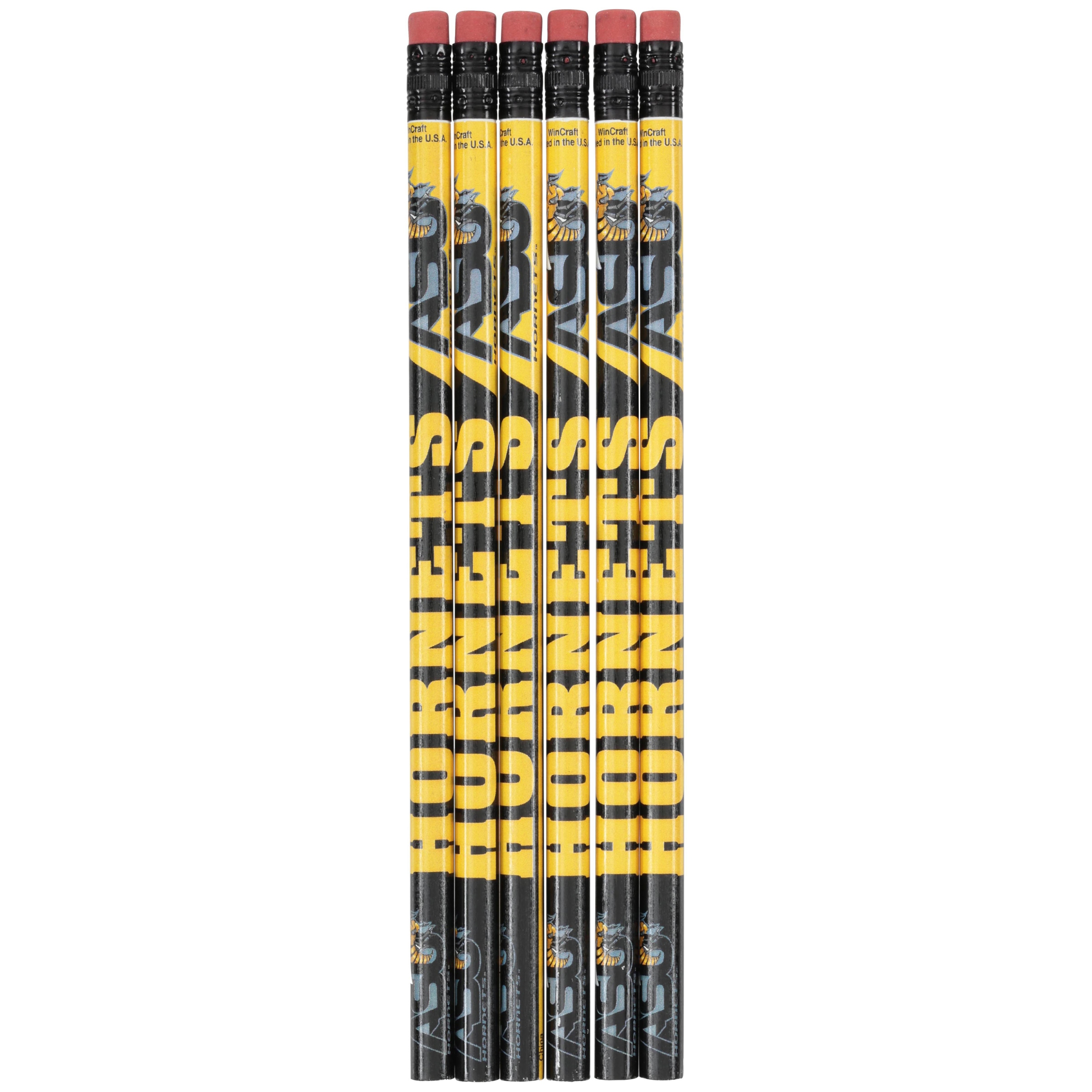 Wincraft® Alabama State Hornets Pencils 6 ct Pack