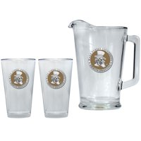 Wake Forest University Pitcher and Pint Glass Set Beer Set