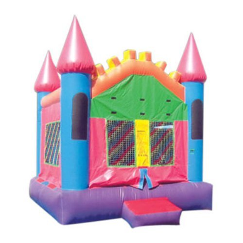 Kidwise Commercial Pretty Pink Castle Bounce House