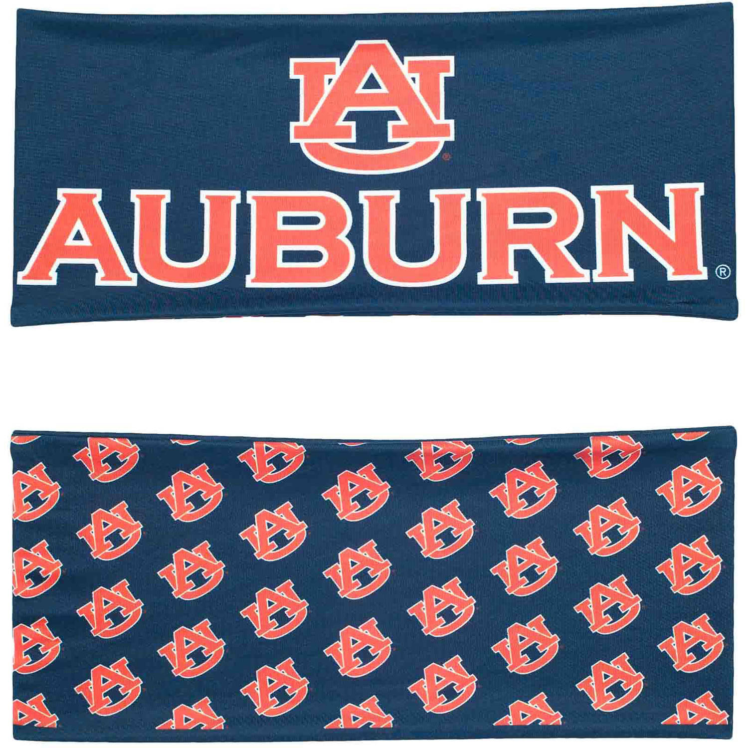 Auburn University Reversible Team Color Headband, Wide
