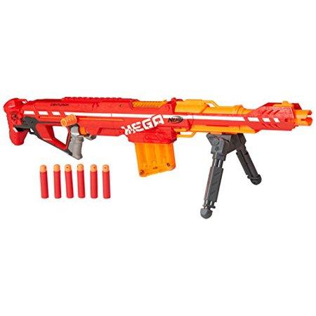 Toy Mega Centurion Blaster Frustration Free Packaging Red Darts Up to 100 Feet (Power Rangers Mega Blaster)