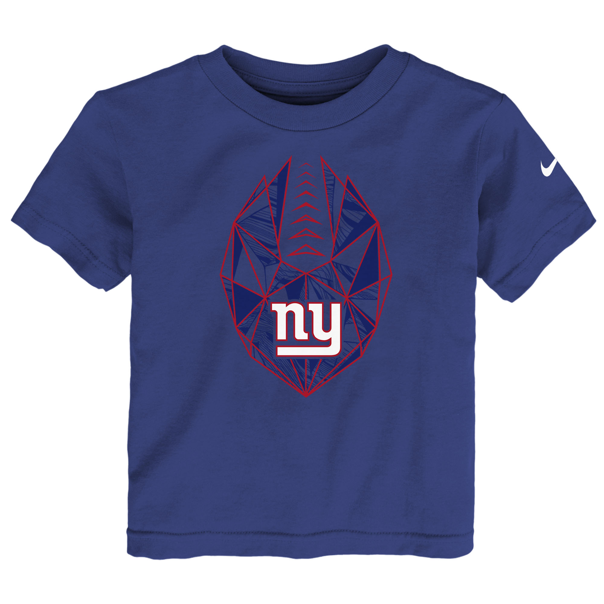New York Giants Nike Preschool Football Icon T-Shirt - Royal