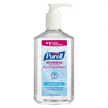 (6 Pack) PURELL® Advanced Hand Sanitizer Gel, 12 Oz Pump
