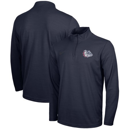 Gonzaga Bulldogs Nike Intensity Performance Quarter-Zip Pullover Jacket - Navy Gonzaga Bulldogs Jacket