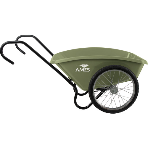 Ames TCCART 5 Cubic Feet Green Garden Cart