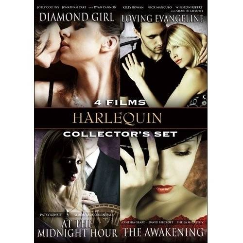 Harlequin Collector's Set, Vol. 2: Diamond Girl / Loving Evangeline / At The Midnight Hour / The Awakening