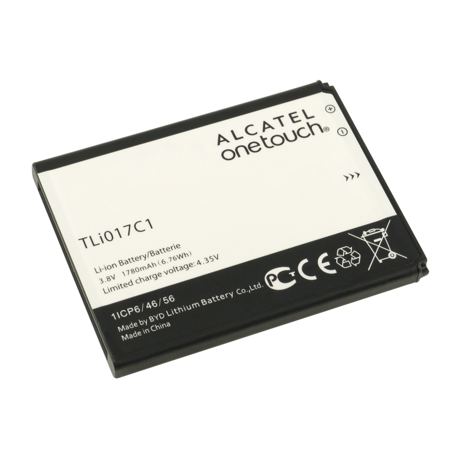 For Alcatel Dawn Replacement OEM Standard Battery TLi017C1 1780mAh (Refurbished)