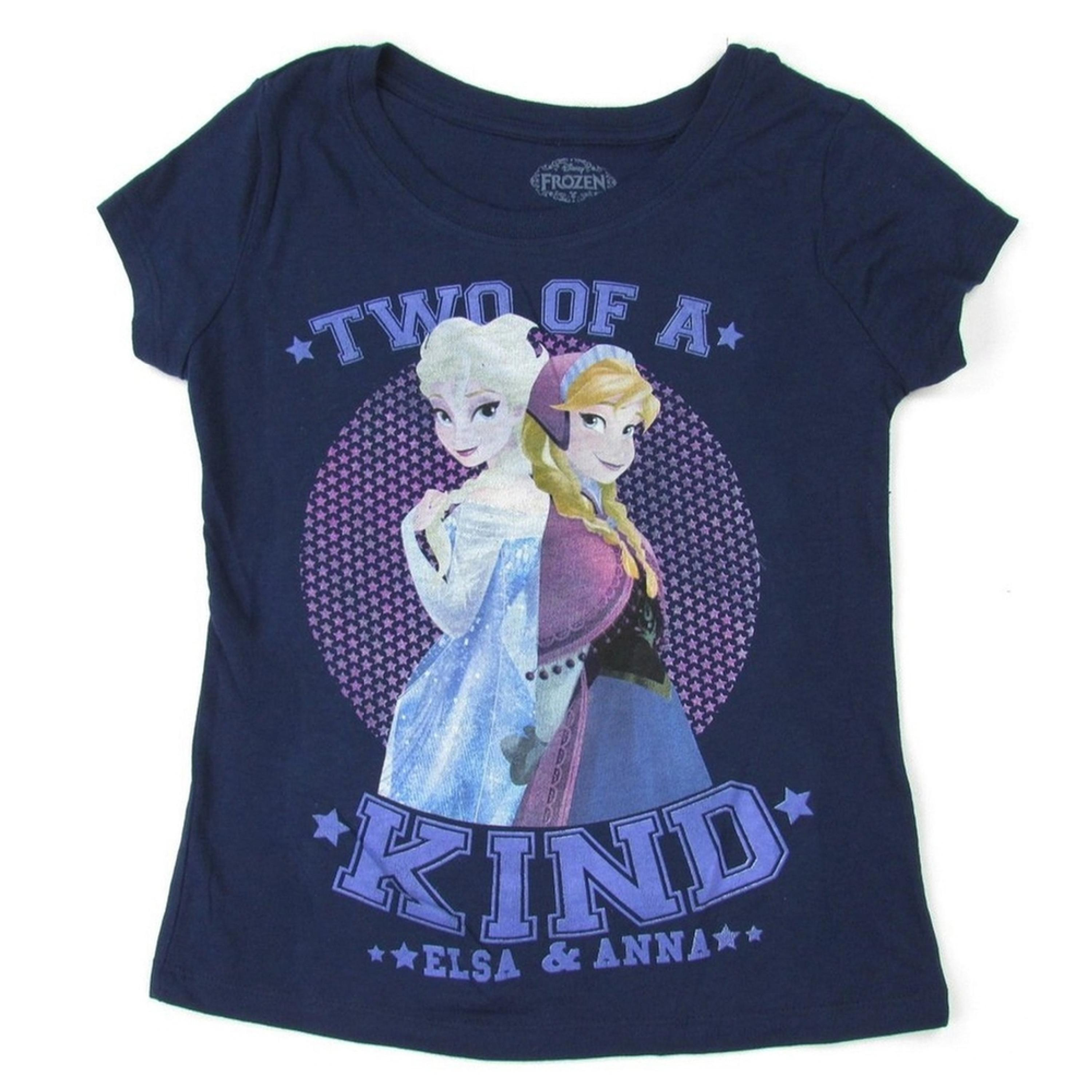 Frozen - Two of a Kind Girls Youth T-Shirt