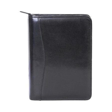 Leather Weekly - Scully Zip Weekly Planner Italian Leather 8053Z  7.5