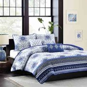 Home Essence Apartment Taylor Blue Coverlet Bedding Set