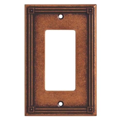 Brainerd Ruston Single Decorator Wall Plate