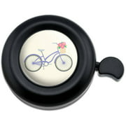 Bicycle Bike With Basket of Flowers Bicycle Handlebar Bike Bell