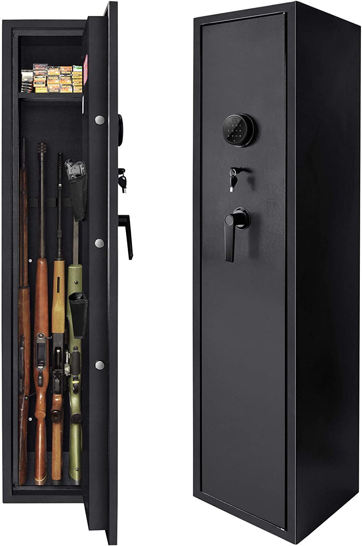 5-Gun Rifle Gun Safe, Zeiger Quick Access Electronic Gun ...