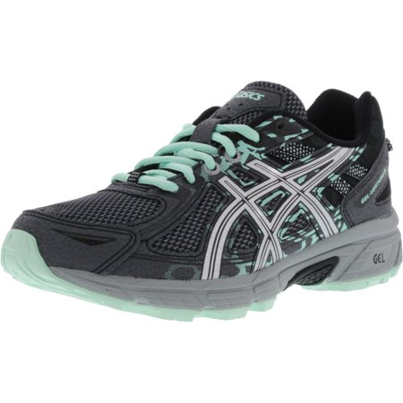 Asics Women's Gel-Venture 6 Castlerock / Silver Honeydew Ankle-High Running Shoe -