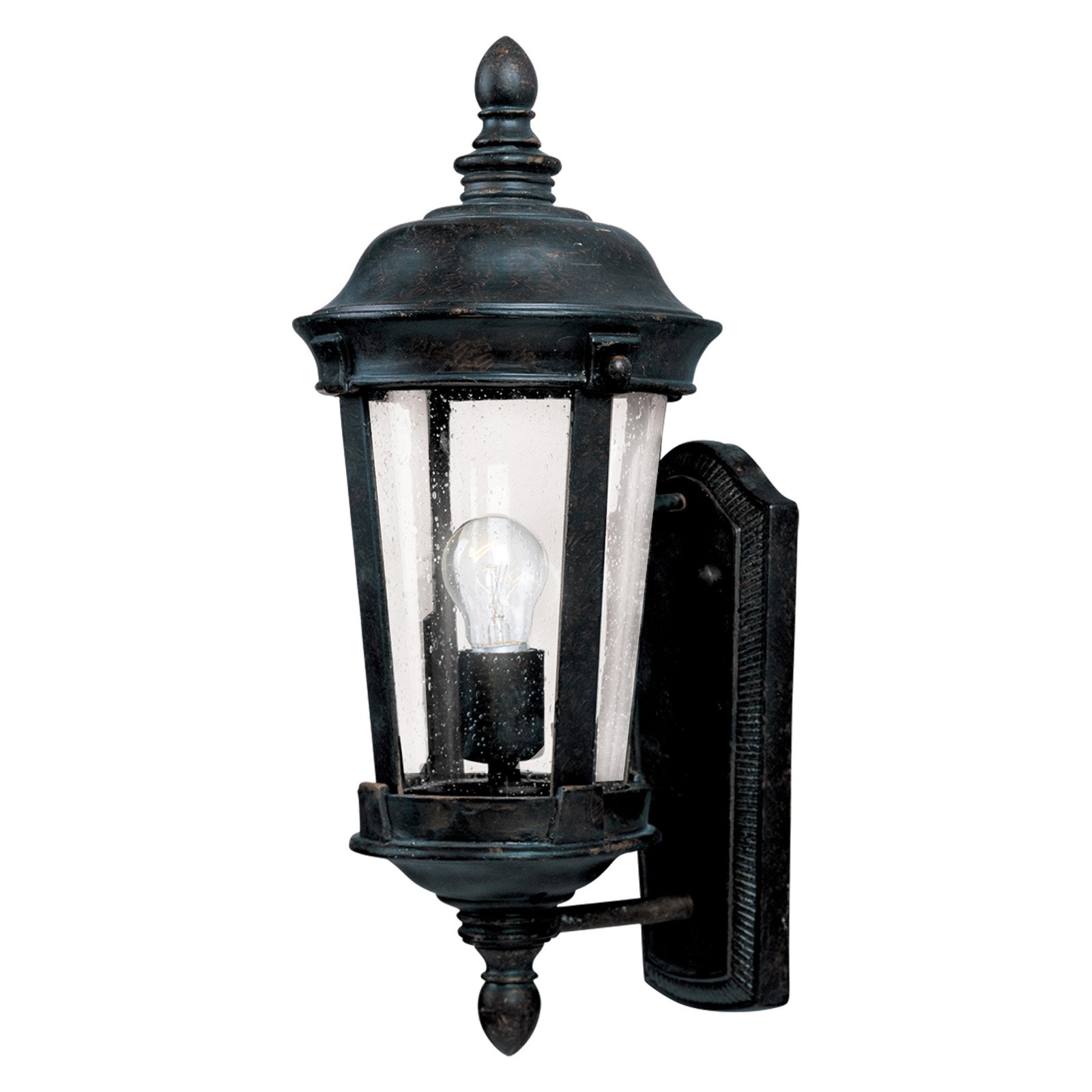 Maxim Dover DC Outdoor Wall Lantern - 17H in. Bronze