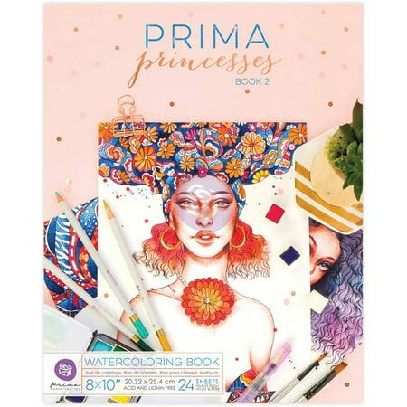 Prima Watercolor Coloring Book 8