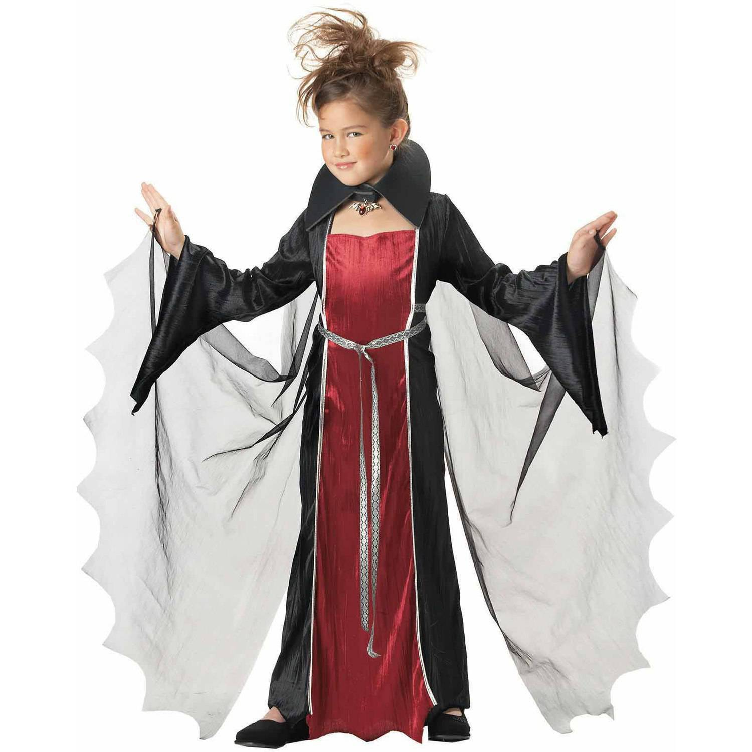 sc 1 st  Walmart & Purple/Orange Witch Girls Dress Halloween Costume - Walmart.com