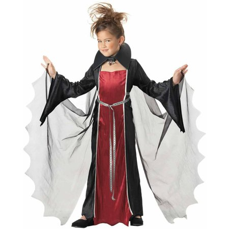 Vampire Girls' Child Halloween Costume - Burlesque Girl Halloween