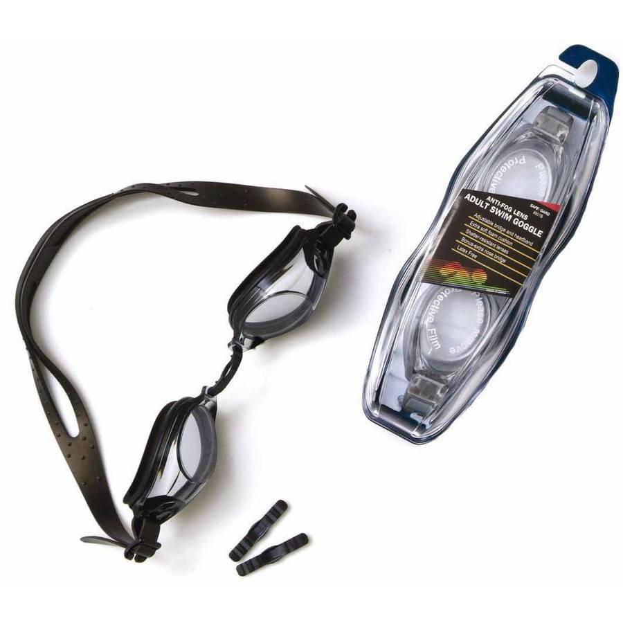 Safe-T-Gard Anti-Fog Swim Goggles, Adult