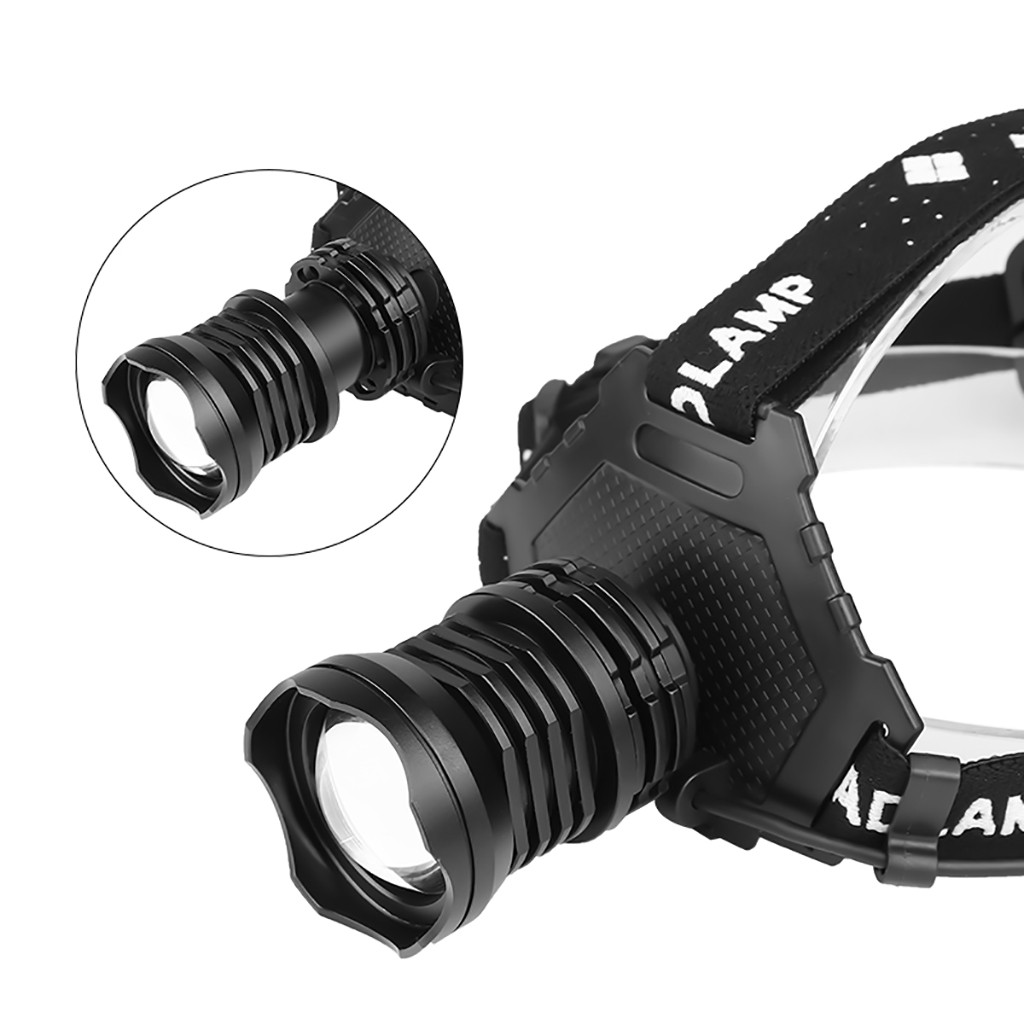 XHP70 LED Headlamp 5Modes Headlight Flashlight Head Torch With Charging Displays