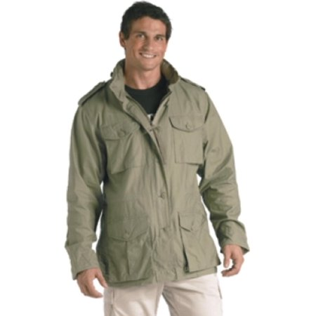 Lightweight Vintage M-65 Field Jackets, Sage Green, XL