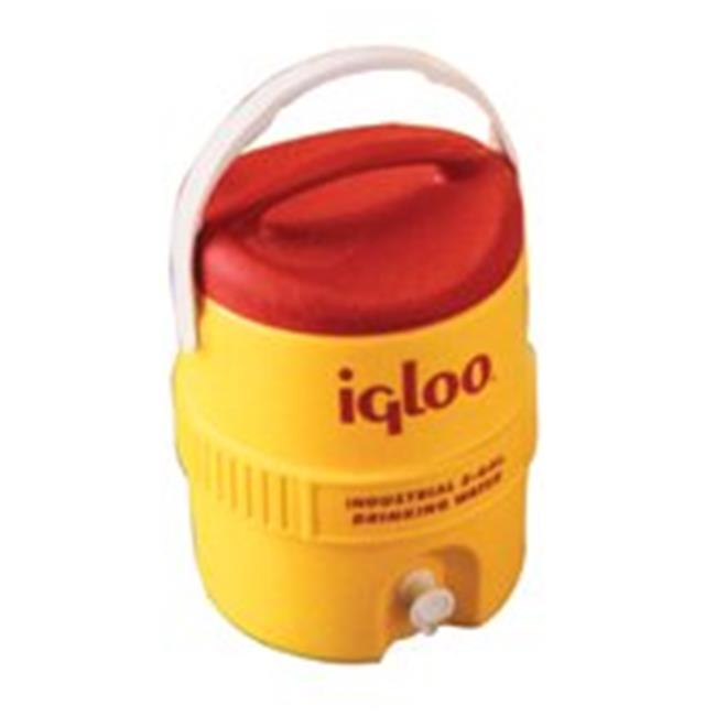 Igloo 385-765 400 Series Coolers, 10 Gal, Red, Yellow