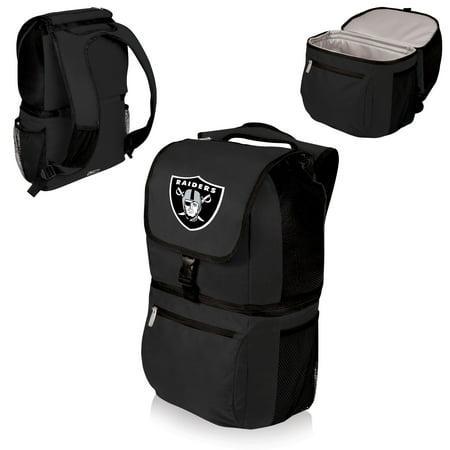 Oakland Raiders Zuma Cooler Backpack - Black - No