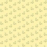 Wallcandy Arts buf01wp Bunny Up Buff Wallpaper - Full Kit