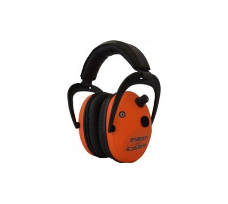 Pro-Ears P300 Predator Gold Electronic Earmuffs, NRR 26 - Orange