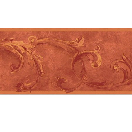 878248 Acanthus Leaves Wallpaper Border OS24604b