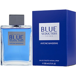 BLUE SEDUCTION by Antonio Banderas - EDT SPRAY 6.8 OZ - MEN