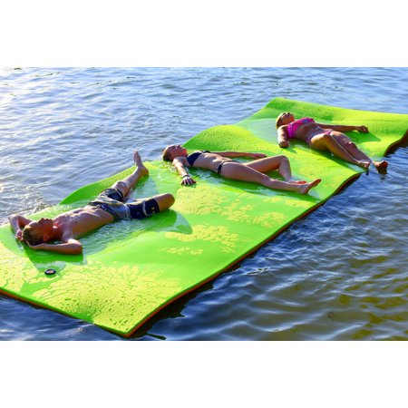Rubber Dockie 18ft X 6ft Floating Water Mat Pad