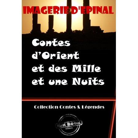 Mille Une Roses - Contes d'Orient et des Mille et une Nuits (Images d'Epinal) - eBook
