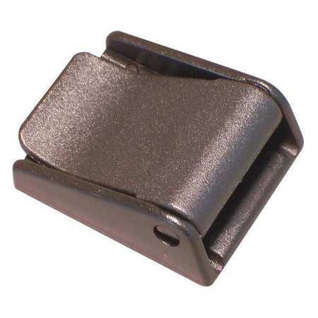 B34 BULK-STRAP Side Squeeze Buckle,3//4 In.,Plastic,PK10 Black