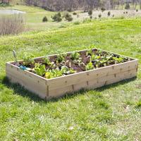 Belham Living Cedar Raised Garden Bed