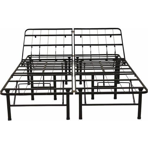 Modern Sleep Adjustable Platform Metal Bed Frame