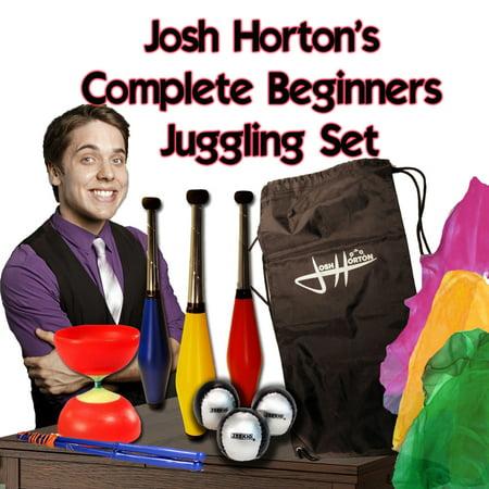 Josh Horton Complete Beginner Juggling Set for Kids](Juggling Sets)