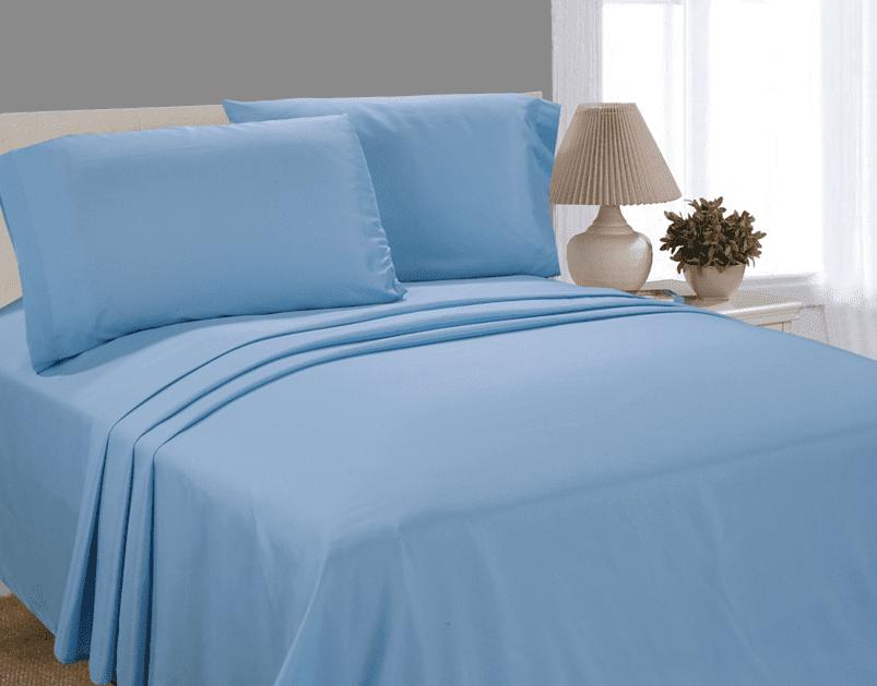 Blue Twin Bed Sheet Set