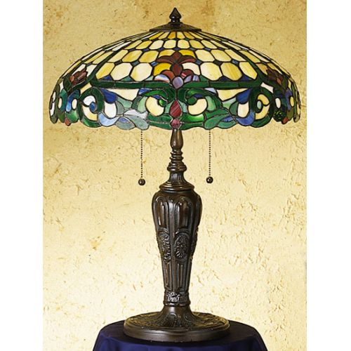 Meyda Tiffany 31156 Stained Glass   Tiffany Table Lamp from the Duffner & Kimber by Meyda Tiffany