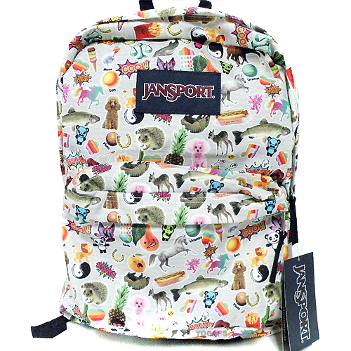 Classic SUPERBREAK BACKPACK - Multi Stickers