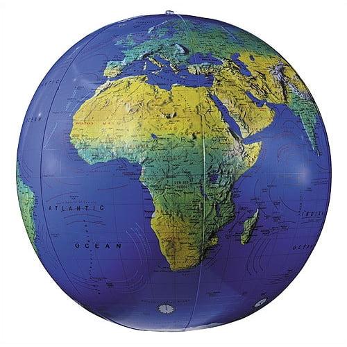 Replogle Globes 16'' Inflate-A-Globes in Dark Blue