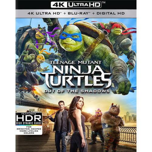 Teenage Mutant Ninja Turtles: Out Of The Shadows (4K Ultra HD + Blu-ray) PARBR59181678
