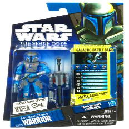 Star Wars Clone Wars 2010 Mandalorian Warrior Action Figure ()