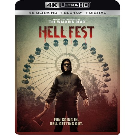 Hell Fest (4K Ultra HD + Blu-ray) - Movie Park Halloween Horror Fest Trailer