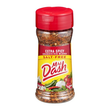 - (2 Pack) Mrs. Dash Extra Spicy Salt-Free Seasoning Blend 2.5 Oz